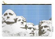 Mount Rushmore - Blue Carry-all Pouch