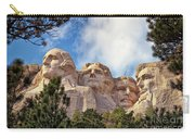 Mount Rushmore National Memorial In The Black Hills Of South Dakota  Carry-all Pouch by Sam Antonio Photography