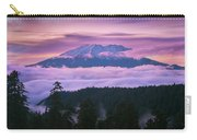 Mount Saint Helens Sunset Carry-all Pouch