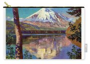 Mount Saint Helens Vintage Travel Poster Restored Carry-all Pouch