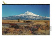 Mount Shasta California Carry-all Pouch