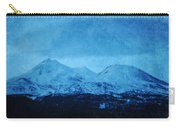 Mount Shasta Twilight Carry-all Pouch
