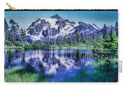 Mount Shuksan And Picture Lake Carry-all Pouch