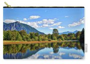 Mount Si Overlooks Mill Pond Carry-all Pouch