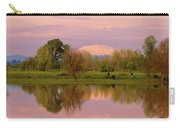Mount St Helens Reflection During Sunset Carry-all Pouch