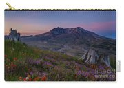 Mount St Helens Spring Colors Carry-all Pouch