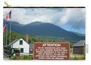 Mount Washington Nh Warning Sign Carry-all Pouch