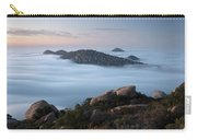 Mount Woodson Above Clouds Carry-all Pouch