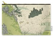 Mount Yoshino, Cherry Blossoms Carry-all Pouch