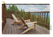 Mountain Adirondack Chairs Carry-all Pouch