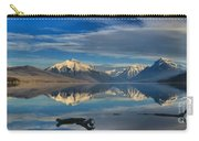 Mountain And Driftwood Reflections Carry-all Pouch