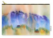 Mountain And Hill Abstract Carry-all Pouch