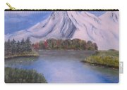 Mountain And Lake Carry-all Pouch