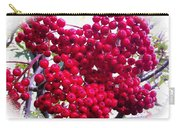 Mountain Ash Berries Vignette Carry-all Pouch