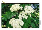 Mountain Ash Blossoms Carry-all Pouch