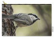 Mountain Chickadee Carry-all Pouch