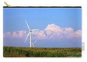 Mountain Clouds And Windmills Carry-all Pouch