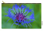 Mountain Cornflower Carry-all Pouch by Byron Varvarigos