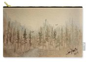 Mountain Evergreens Carry-all Pouch