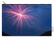 Mountain Fireworks Landscape Carry-all Pouch