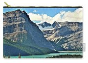 Mountain Glacier And Lake  Carry-all Pouch