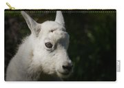 Mountain Goat Kid Portrait Carry-all Pouch