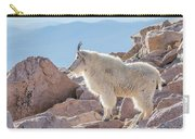 Mountain Goat Takes In Its High Altitude Home Carry-all Pouch