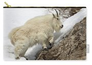 Mountain Goat With Grace Carry-all Pouch