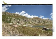 Mountain Goats At Columbine Lake - Weminuche Wilderness - Colorado Carry-all Pouch