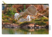 Mountain Goats In Early Fall Carry-all Pouch