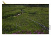 Mountain Heather Sunset Carry-all Pouch