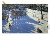 Mountain Hut Carry-all Pouch by Andrew Macara