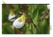 Mountain Lady Slippers Up Close Carry-all Pouch