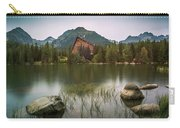 Mountain Lake Under Peaks Carry-all Pouch