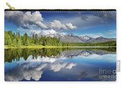 Mountain Lake With Reflection Carry-all Pouch