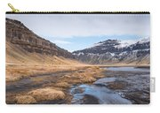 Mountain Landscape Iceland Carry-all Pouch