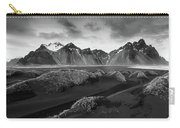 Icelandic Mountain  Landscape Carry-all Pouch