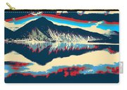 Mountain  Landscape Poster Carry-all Pouch