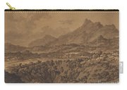 Mountain Landscape With A Hollow Carry-all Pouch