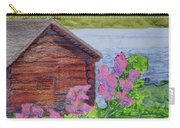 Mountain Laurel By The Cabin Carry-all Pouch