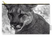 Mountain Lion Bw Carry-all Pouch