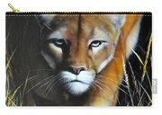 Mountain Lion In Tall Grass Carry-all Pouch