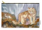Mountain Lion On The Rocks  Carry-all Pouch