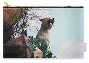 Mountain Lion - Paint Effect Carry-all Pouch