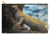 Mountain Lion - Paint Fx Carry-all Pouch
