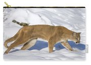 Mountain Lion Puma Concolor Hunting Carry-all Pouch