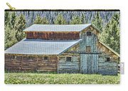 Mountain Log Barn Carry-all Pouch