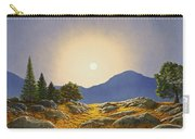 Mountain Meadow In Moonlight Carry-all Pouch