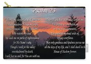 Mountain Morning Prayer Carry-all Pouch