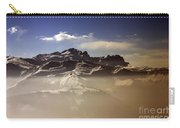 Mountain Panorama And Mist Les Gets Portes Du Soleil Morzine Haute Savoie France Carry-all Pouch